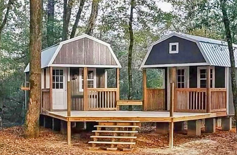 The 'We-Shed' Is a Dual Shed For Him and Her In Bowie