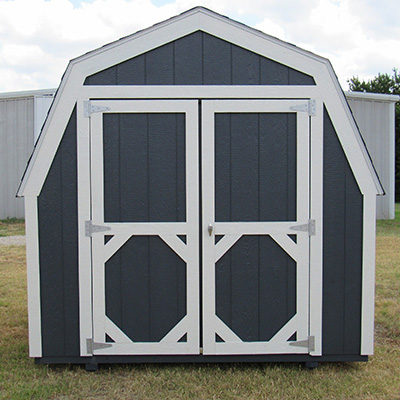 Ranch Barn Style Sheds in Bowie